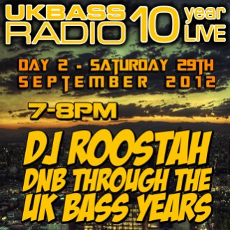 UK Bass Radio 10th Anniversary Weekend 16