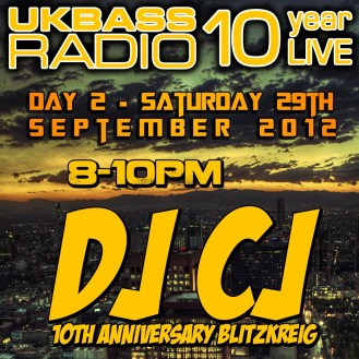 UK Bass Radio 10th Anniversary Weekend 17