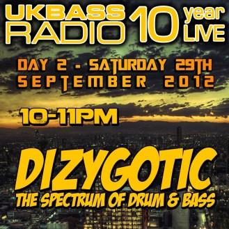UK Bass Radio 10th Anniversary Weekend 18