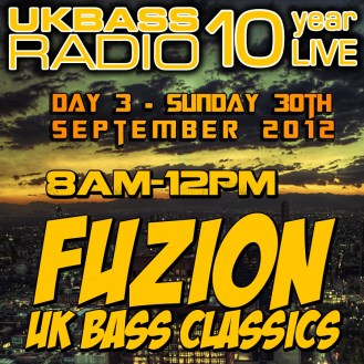 UK Bass Radio 10th Anniversary Weekend 21