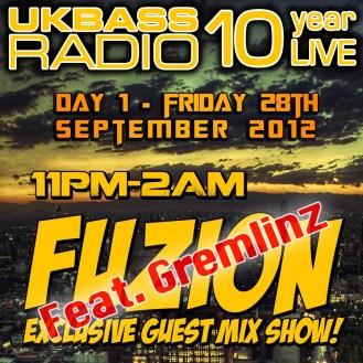 UK Bass Radio 10th Anniversary Weekend 6