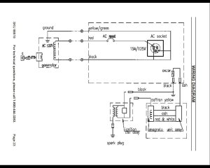 Where Ca I Find A Diagram For A 2HP Chicago Electric Generator 800900q | DIY Forums