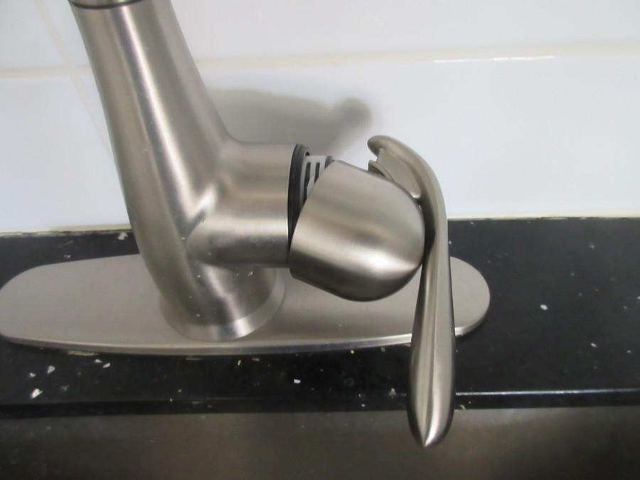 moen kitchen faucet plastic collar