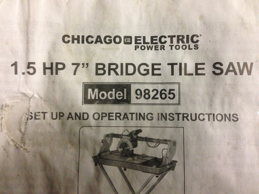 need tile saw parts diy forums