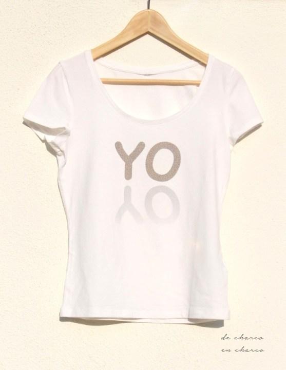 Camiseta YO para mujer