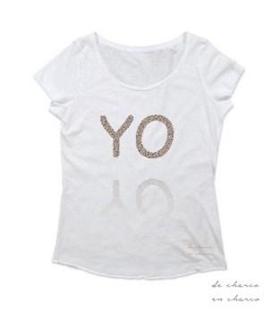 camiseta mujer yo www.decharcoencharco.coom