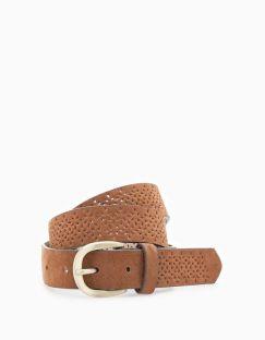 Cinturón marrón STRADIVARIUS. 5,95€