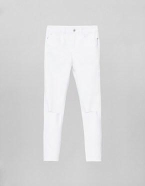 Jean blanco roto de SUITEBLANCO. 25,99€