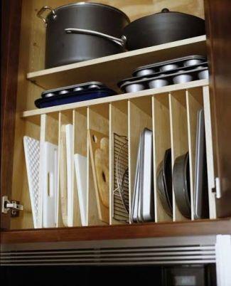 organizador prefabricado 14 transparentes prefabricado orden en cocina www.decharcoencharco.com