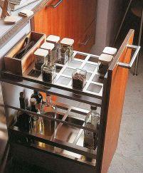 organizador prefabricado 16 transparentes prefabricado orden en cocina www.decharcoencharco.com