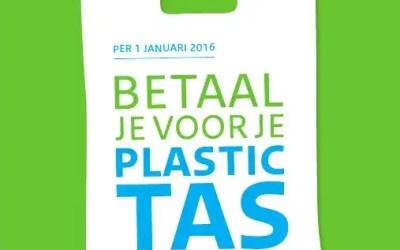 Verbod op plastic tasjes