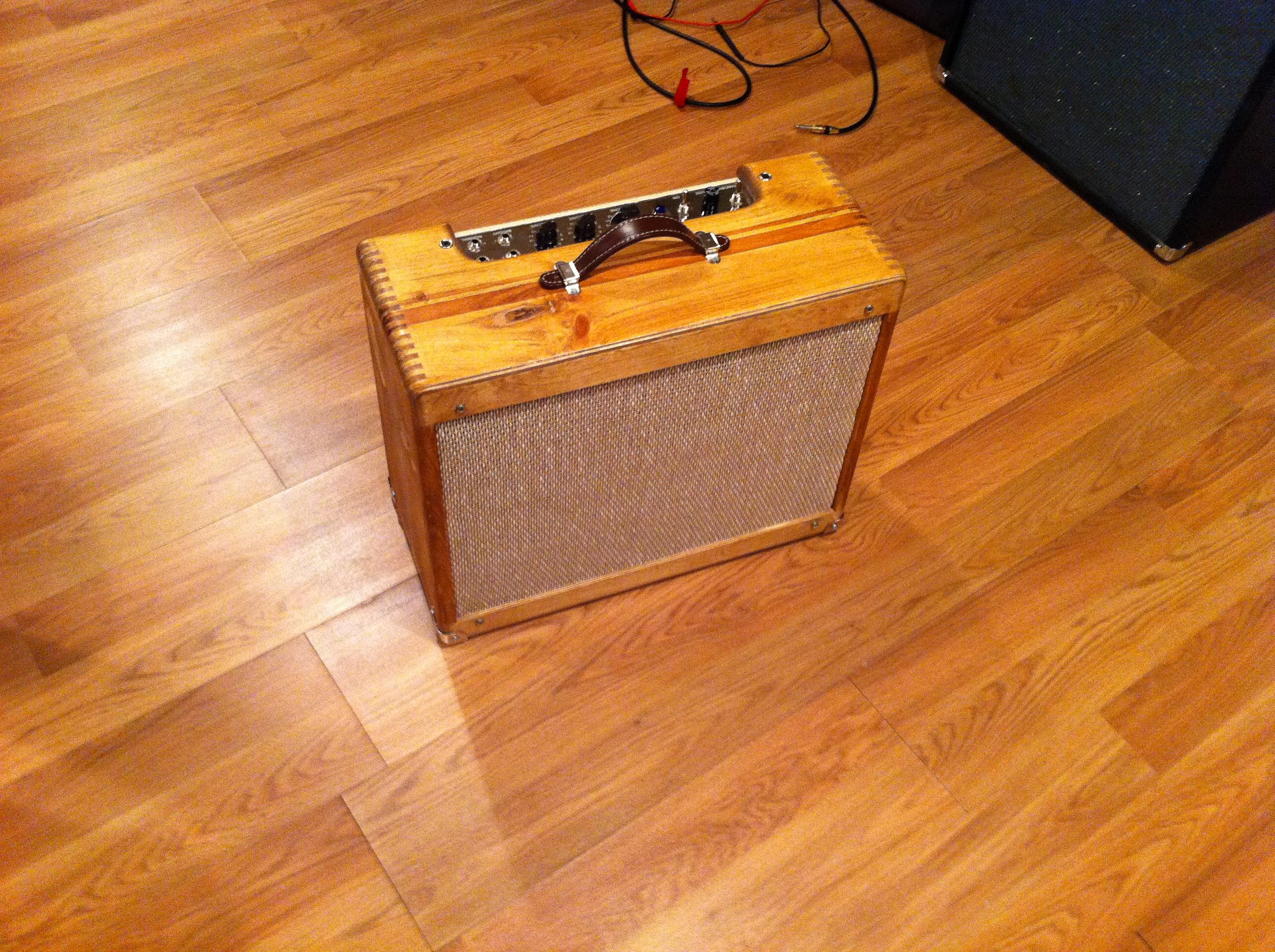 Fender 5e3 Deluxe Amp Build