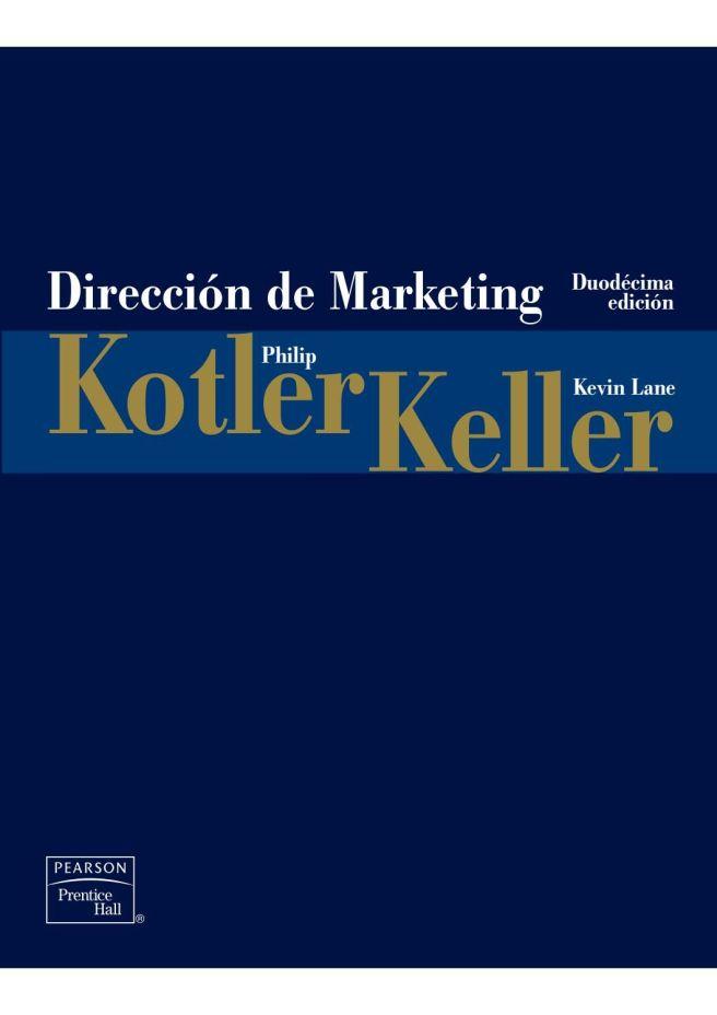 Dirección de Marketing, PDF - Philip Kotler