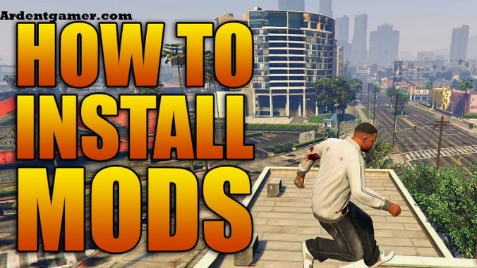 how to install gta 5 mods