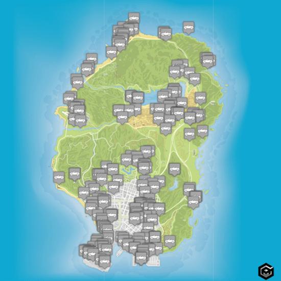 GTA 5 vehicle spawn