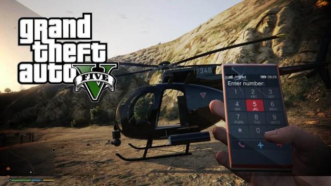 GTA 5 cheats ps4 phone