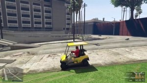 GTA 5 Caddy