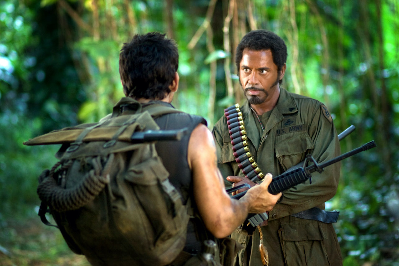 Robert Downey Jr Criticized For His Ironic Use Of Blackface In Tropic Thunder Decider