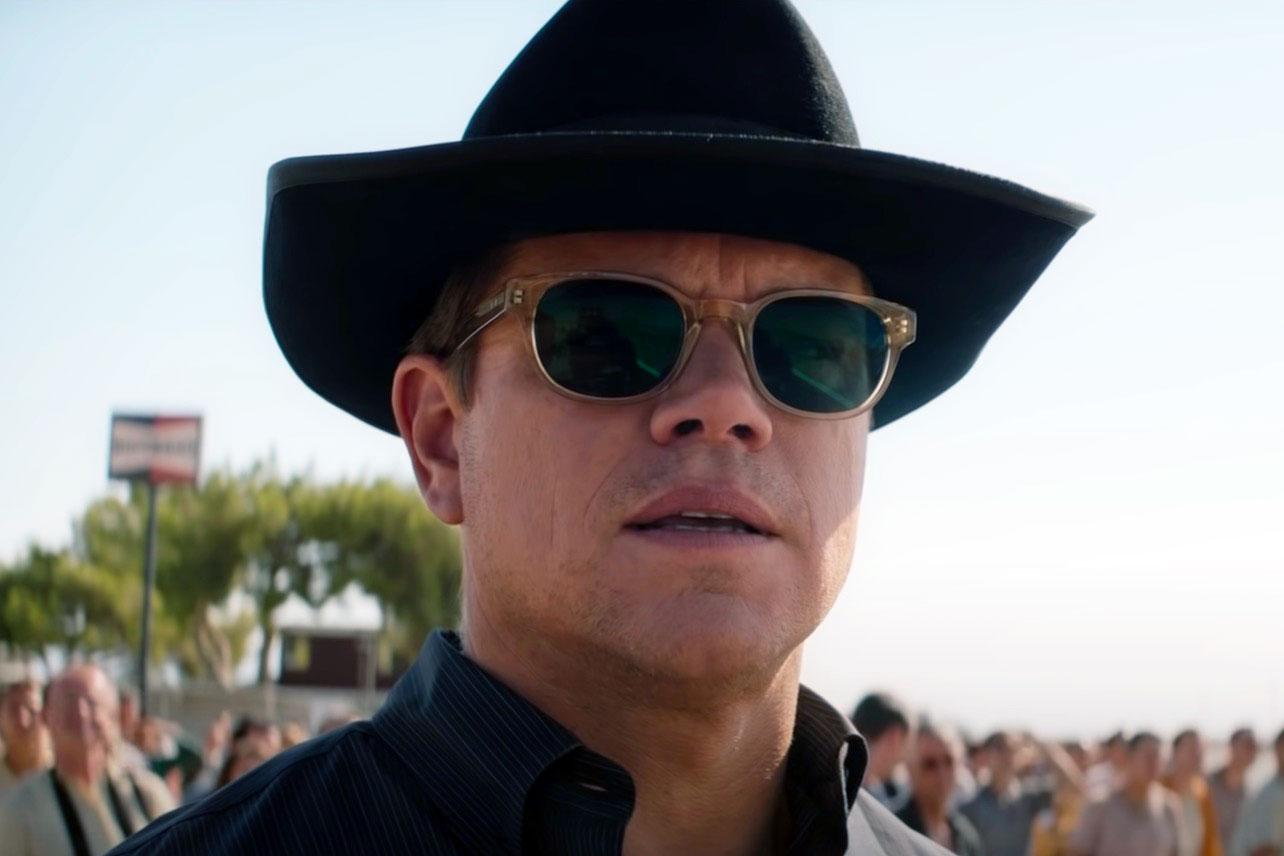 Ford V Ferrari On Hbo Matt Damon S Sunglasses Are The New Chris Evans Sweater
