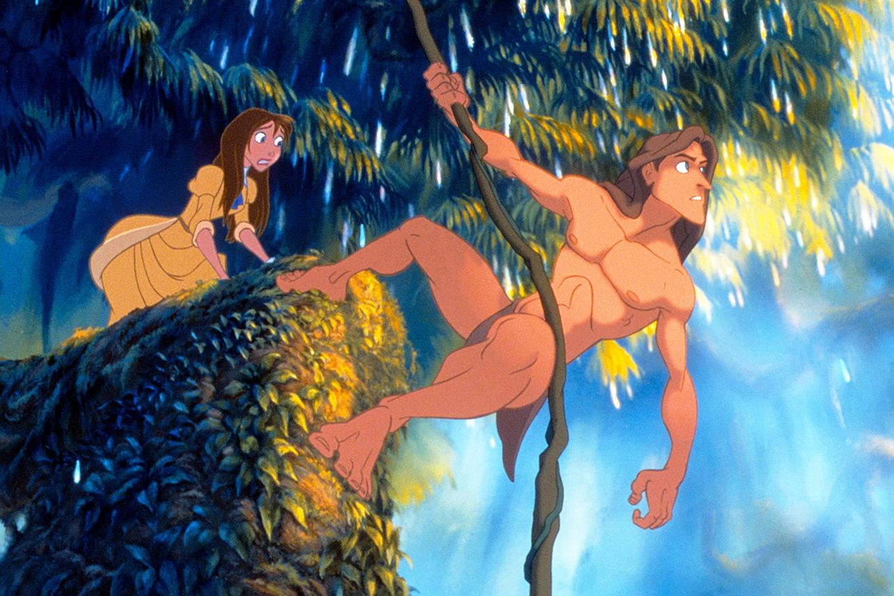 Tarzan Is Finally Streaming On Disney