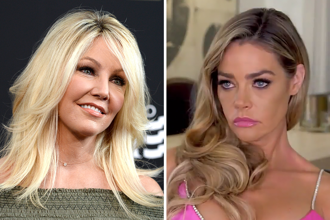 What Happened Between Denise Richards and Heather Locklear?