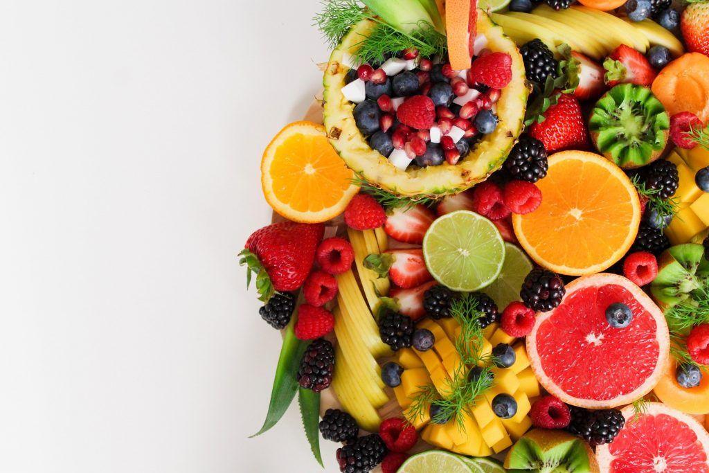Frutas de desayuno para rutina matutina
