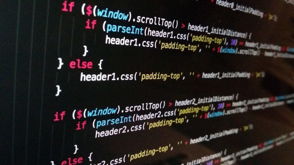 Programación código