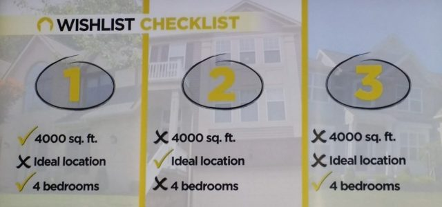 Househunters decision checklist