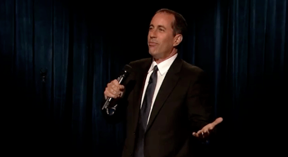 photo of Jerry Seinfeld