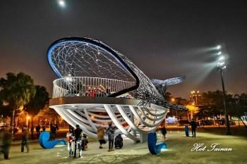 【台南景點】安平新景點大魚的祝福,安平港濱歷史公園內的超大型鯨魚裝置藝術