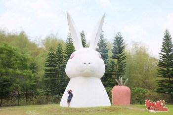 【台南景點】來自外星球的巨兔登陸台南!難不成這裡是台南版的大人國:微風山谷民宿