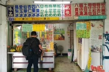 【台南冰店】台南公園旁超過50年的老冰店,麵茶八寶冰竟然只賣你40元:公園口八寶冰店