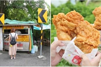 【台南美食】佳里區森林系隱藏版雞排店,一天只賣4小時!吃不到等明天啦:鬍鬚現炸香雞排