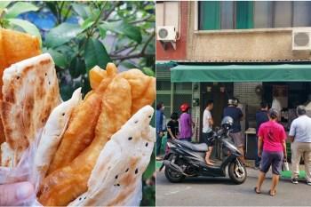 【台南早餐】每天只賣2小時的排隊燒餅店!撲空了好幾次才吃到的隱藏版:變電所燒餅