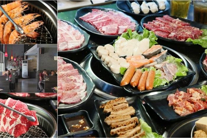 【台南吃到飽】吃到飽竟然有「火烤鴕鳥肉」!破百種台日式美食讓你一次吃到啦:石頭日式炭火燒烤-永康店