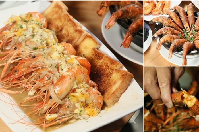 【台南美食】台南最有創意的泰國蝦料理店,泰國蝦也能吃出你的環遊世界:饗受吃蝦料理