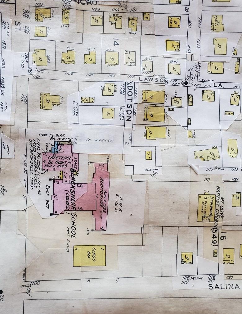 Map Blackshear