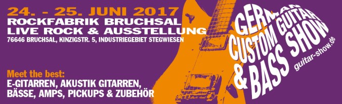 German custom guitar & bass show 2017