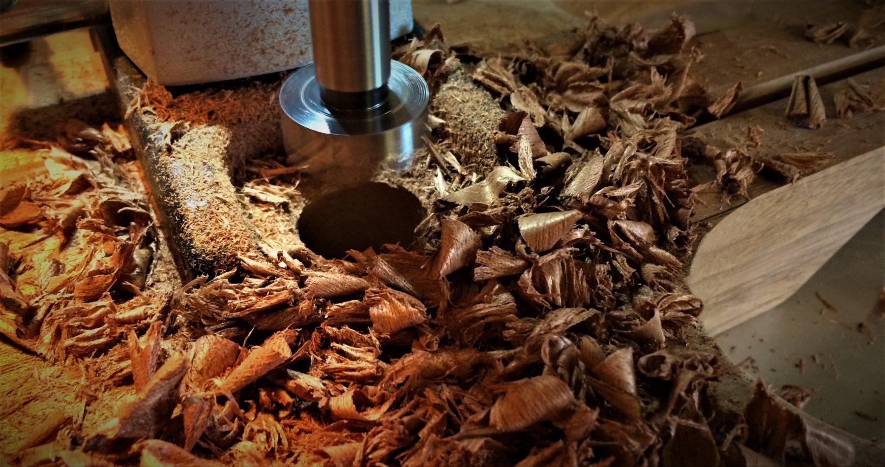 viola-nt mahogany drilling