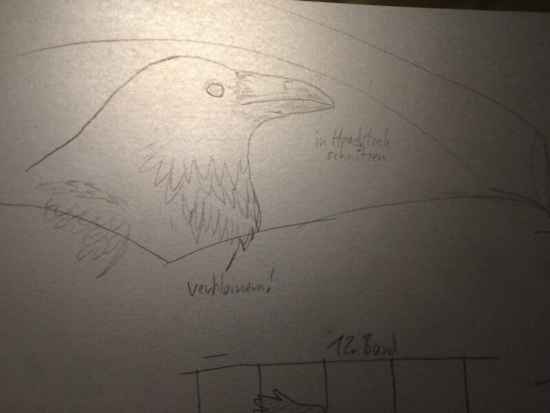 drawing the crow