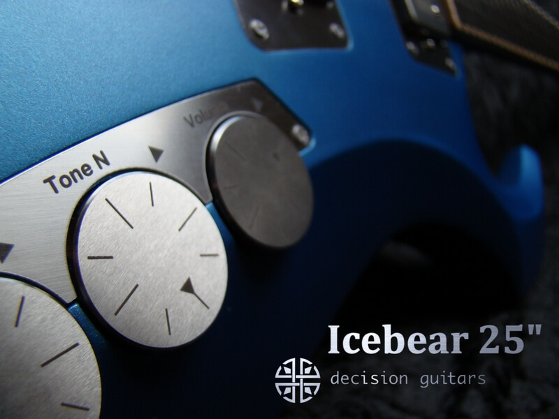 "icebear blue 25"" custom controls"