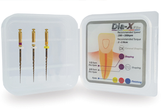 Product Profile: Dia-X Rotary Files from DiaDent - Decisions in