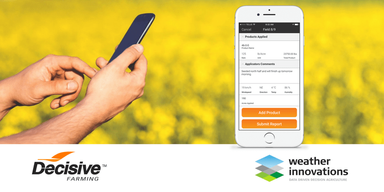 Decisive Farming and Weather Innovations Simplify Crop Decisions in the Field