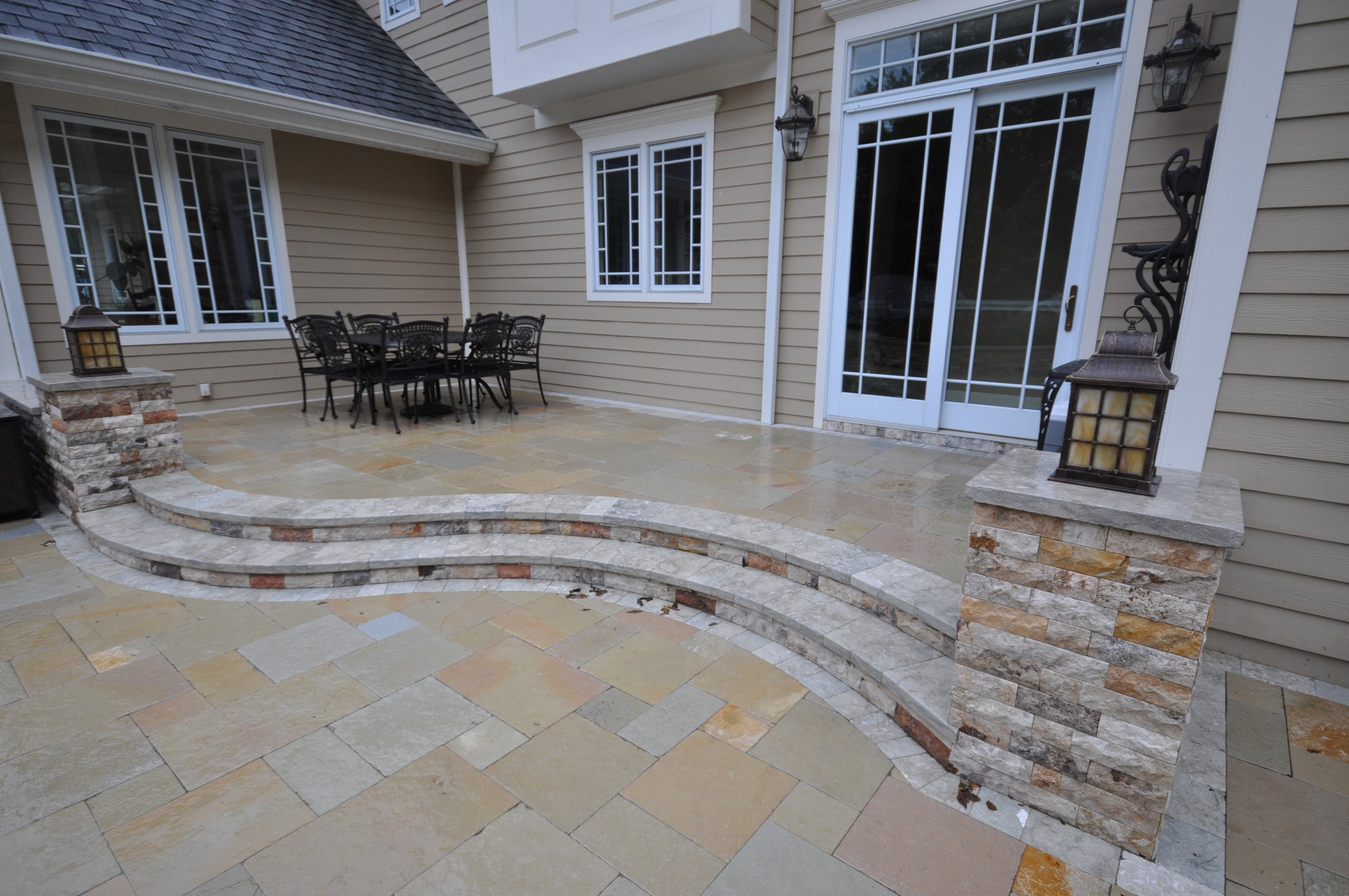 deck and patio natural stones natural stone pavers
