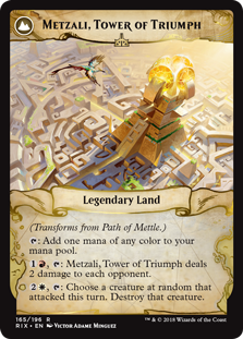 Metzali, Tower of Triumph