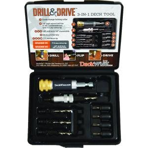 deckwise drill and drive kit