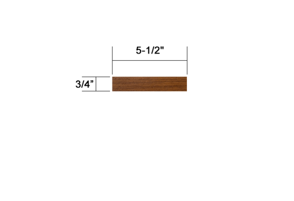 Ipe 1x6 standard decking