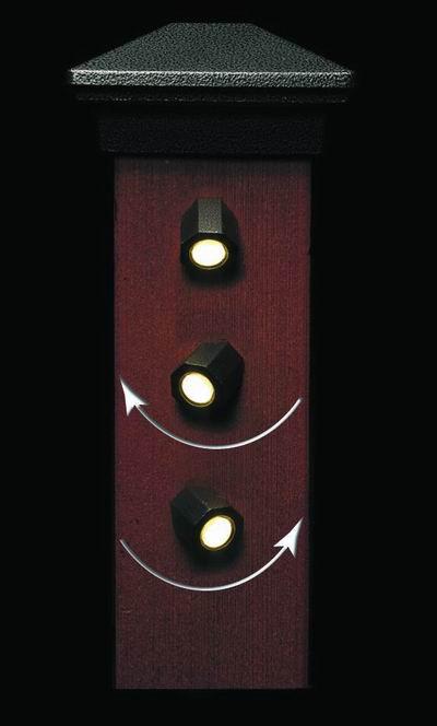 dekor directional led deck light