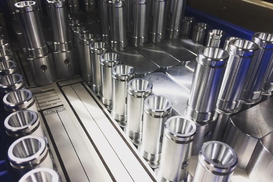Machined Parts: Milled Aluminum