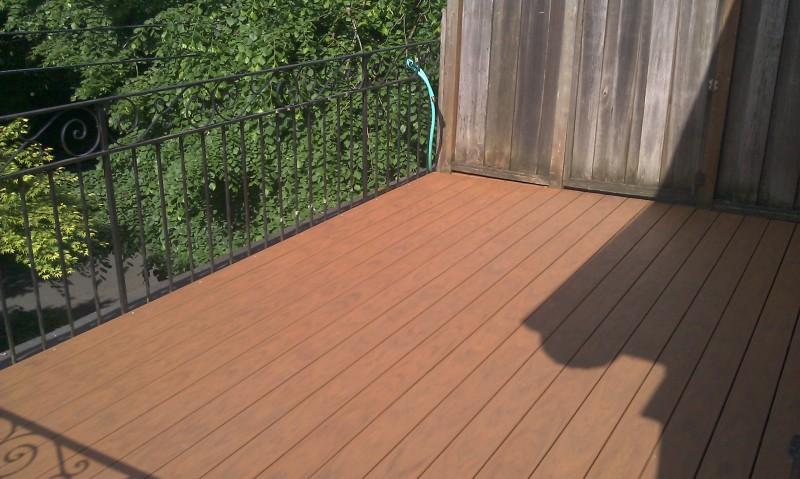 Timbertech Harvest Bronze PVC deck
